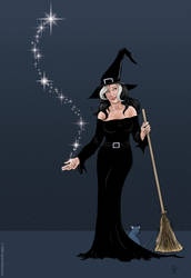 Another Witch Pose by JamieCOTC