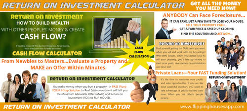 Return On Investment by CashFlowAnalysis