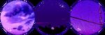 Purple + F2U Decoration Divider. by BrownMota