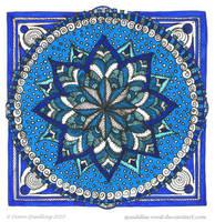 Meditative Moments Mandala by Quaddles-Roost