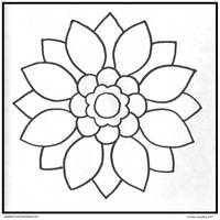 Sun Petal Mandala DOWNLOADABLE by Quaddles-Roost