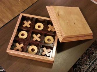 Wooden Tic Tac Toe Set By Kcapilit On Deviantart