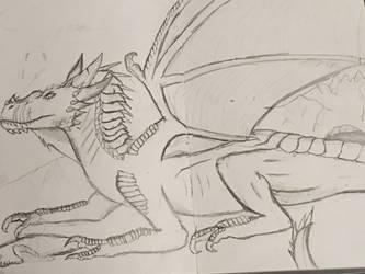 Dragon 3: Arctic by DrawingDinoPro