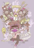oppikoppi poster by BrentBlack