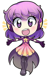 Commission - Uchu Chibi by MystSaphyr