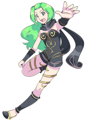 Commission - Gravity Rush Mint by MystSaphyr