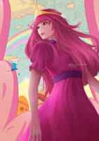 Princess Bubblegum by miqdadhbl