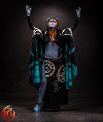 Basking in Twilight-- Midna Cosplay by Renna-Mira