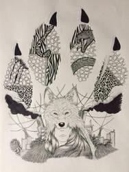 Le loups et le trafic des peaux animales by rudy321