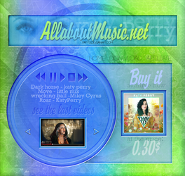 Musical Layout by paty13