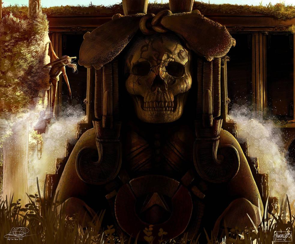 Lara Croft Fan art by Angeljo45