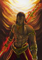 Karna Mahabharata by 8lackhand