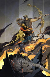 Dark Souls: The Four Knights of Gwyn by hot-fish