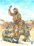 British Infantry of the late XXth and early XXIst  by artikid