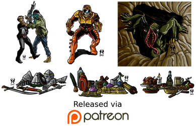 October 2017 Patreon Release by artikid