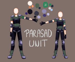 #56// Parasad - Unit Uniform by colorvamp