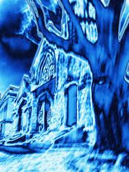 Church Blue by MaynardModernMedia