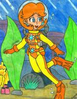 PC: Aqua Daisy by Villaman89