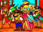 Heroes of the Mushroom West. by Villaman89