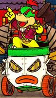 Mushroom Steampunk: Bowser Jr. by Villaman89