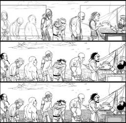 Storyboards WIP by graffitihead