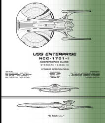 NCC-1701-I by samuelkowal906