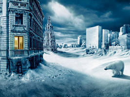 North Pole City by PeanutbutterJelle