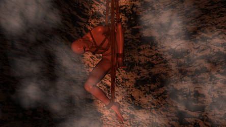 Kinbaku Tidbits Ten - 07 Monk going to hell by Sanjunin49