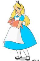 Alice by papawaff