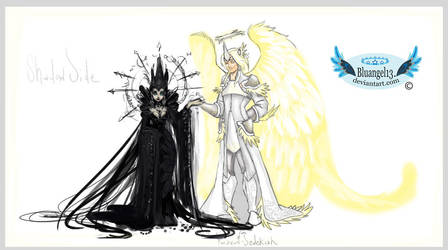 The Shadow and Light Side by Bluangel13