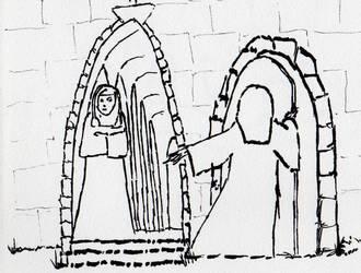 Nuns by Golden-Penguin