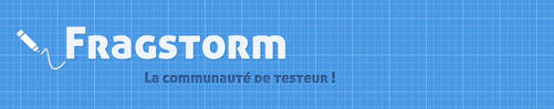 Fragstorm Banner and Logo - Sold by crativearch