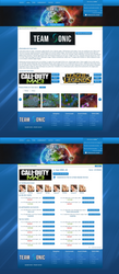 Team Sonic Profil Page - Sold by crativearch