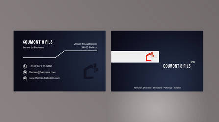 Coumont and Fils Id Card Sold by crativearch