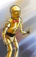 C-3PO by monkeyzav