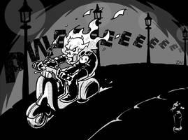 Ghost Rider by monkeyzav