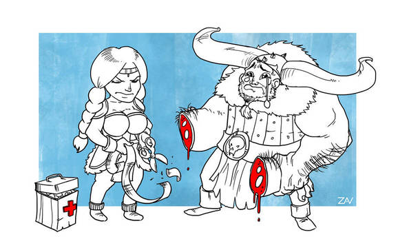 Heal plz by monkeyzav