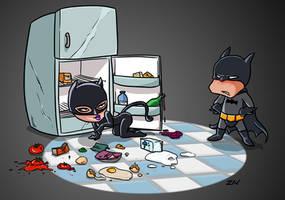 Batman x Catwoman by monkeyzav