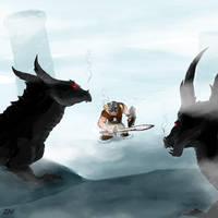 Skyrim by monkeyzav