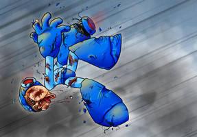 Take this - Megaman by monkeyzav