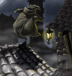 Oogie Boogie by monkeyzav