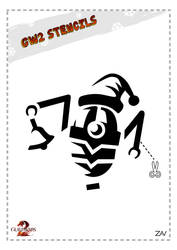 GW2 Stencil - Job-O-Tron by monkeyzav