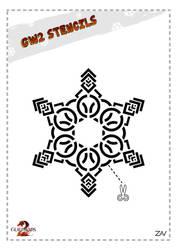 GW2 Stencil - Snowflake by monkeyzav