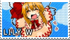 STAMP: Lily White by mobbostamps