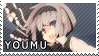 STAMP: Youmu Konpaku by mobbostamps