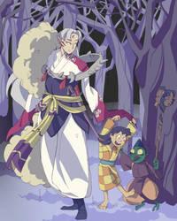 Sesshomaru family by Dazzel-Almond