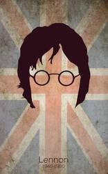 Lennon Minimalist by DiegoSkywallker
