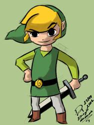 Link - The Legend of Zelda  by DiegoSkywallker