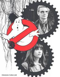 Ghostbusters by miraradak