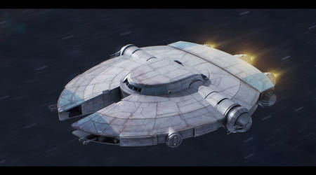 Spaceship: The Freedom by Snowdog-zic